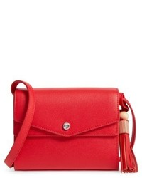 Elizabeth and James Eloise Field Crossbody Bag Red
