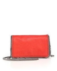Stella McCartney Falabella Faux Leather Fold Over Chain Crossbody Bag