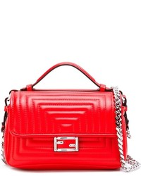 Fendi Micro Double Baguette Crossbody Bag