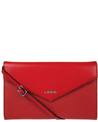 Lodis Gabi Leather Crossbody Wallet