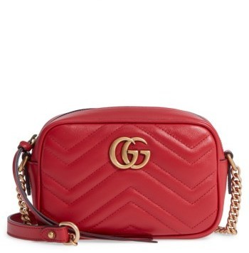 a93efc99d90d Gucci Gg Marmont 20 Matelasse Leather Camera Bag, $980 | Nordstrom ...