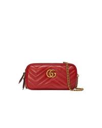 Gucci Gg Marmont Mini Chain Bag