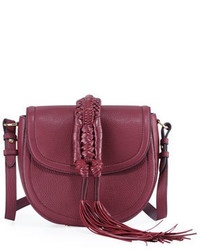 Altuzarra Ghianda Small Leather Saddle Knot Bag
