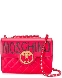 Moschino Graffiti Logo Shoulder Bag