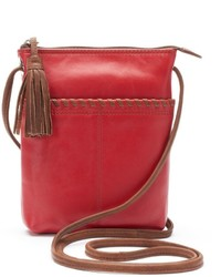 Ili Leather Two Tone Mini Crossbody Bag
