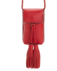 Rebecca Minkoff Isobel Phone 66s Crossbody Bag Red