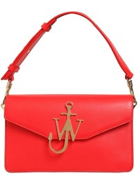 J.W.Anderson Jw Logo Leather Shoulder Bag