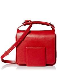 Jil Sander Leather Crossbodymedium Red