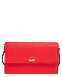 Kate Spade New York Cameron Street Stormie Wallet Crossbody Bag Black