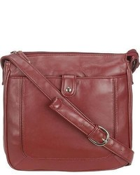 Wilsons Leather Lamb Top Zip Crossbody
