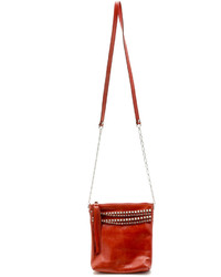 Leather Rock Leatherock Red Leather Cross Body