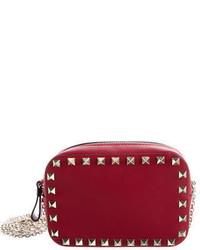 Valentino Leather Rockstud Crossbody Bag