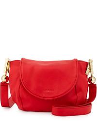 See by Chloe Lena Vachetta Leather Crossbody Bag Flamboyant Red