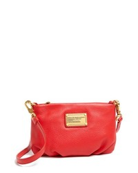 Marc by Marc Jacobs Classic Q Percy Crossbody Bag Small Macintosh Apple Red