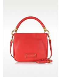 Marc by Marc Jacobs Too Hot To Handle Hoctor Cambridge Red Leather Crossbody Bag