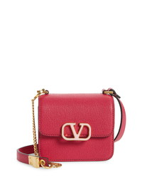 Valentino Garavani Micro Vsling Leather Shoulder Bag