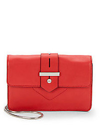 Milly Bradley Leather Mini Crossbody Bag