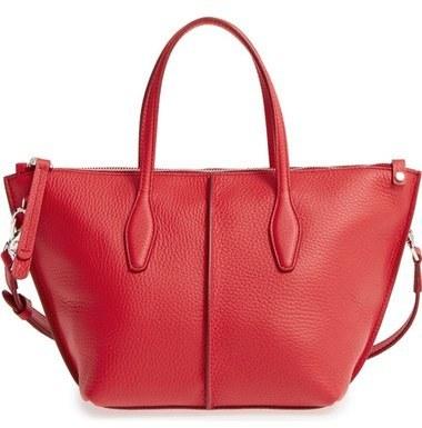 218abcd2cb Tod's Mini Joy Leather Crossbody Bag Red, $1,265 | Nordstrom ...