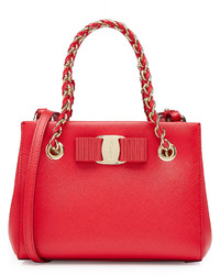 Salvatore Ferragamo Mini Leather Shoulder Bag