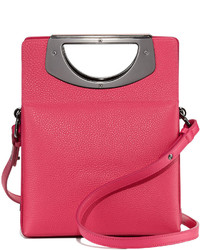 Christian Louboutin Mini Passage Leather Crossbody Bag Pink