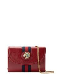 Gucci Mini Rajah Leather Crossbody Bag