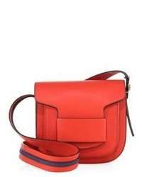 Tory Burch Modern Buckle Leather Crossbody Bag