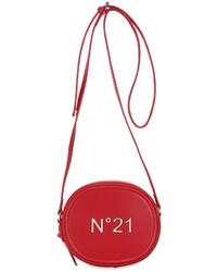 N°21 Logo Leather Zip Around Shoulder Bag