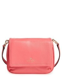 Kate Spade New York Cobble Hill Abela Leather Crossbody Bag Coral