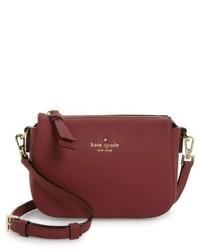 Kate Spade New York Daniels Drive Wendi Leather Crossbody Bag Black
