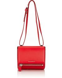 Givenchy Pandora Box Mini Crossbody Red