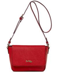 Paul & Joe Sister Cumin Saffiano Leather Crossbody