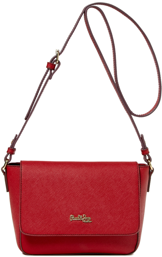 Bags Paul Joe Sister In Saffiano Leather Crossbody