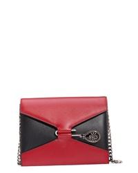 Alexander McQueen Pin Calfskin Leather Shoulder Bag
