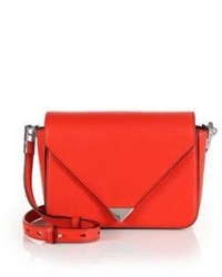 Alexander Wang Prisma Leather Envelope Crossbody Bag