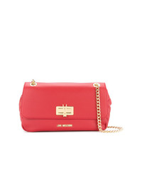 Love Moschino Quilted Chain Strap Shoulder Bag