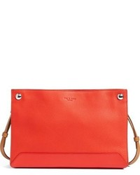 Rag & Bone Compass Leather Crossbody Bag Pink