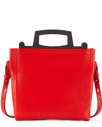 Givenchy Rave Small Napa Leather Crossbody Bag Red
