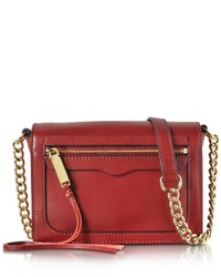 Rebecca Minkoff Avery Flap Leather Crossbody