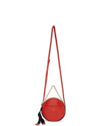 Givenchy Red Croc Eden Round Bag