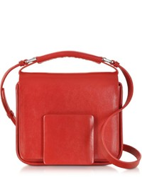Jil Sander Red Lady J Crossbody Clutch