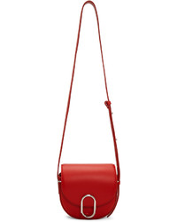 3.1 Phillip Lim Red Mini Alix Saddle Bag
