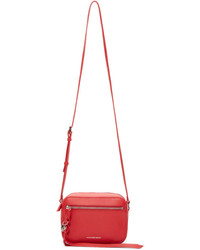 Alexander McQueen Red Small Camera Bag