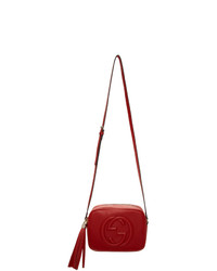 Gucci Red Small Soho Disco Bag