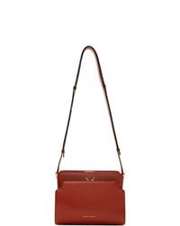 Marni Red Trunk Reverse Bag