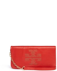 Nobrand Reva Logo Stud Leather Crossbody Bag