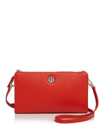 Tory Burch Robinson Pebbled Leather Crossbody