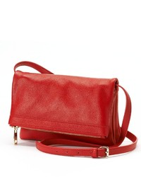 Rr Leather Flap Crossbody Bag