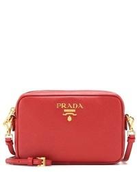 Prada Saffiano Leather Cross Body Bag