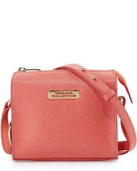 Missoni Saffiano Leather Small Crossbody Bag Corallo