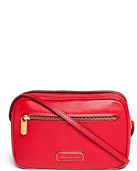 Marc by Marc Jacobs Sally Zip Pocket Leather Crossbody Bag